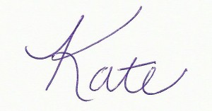 Kate L Williams Signature