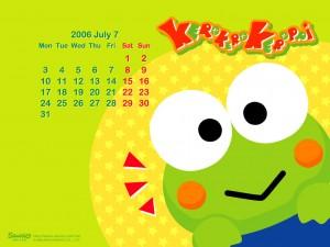 Social Media Editorial Calendar Keroppi