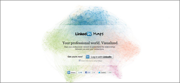 LinkedIn Maps
