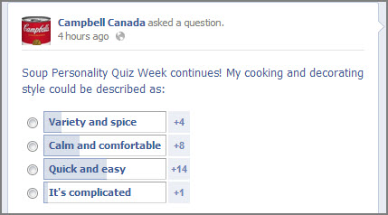 Use polls on your Facebook Page