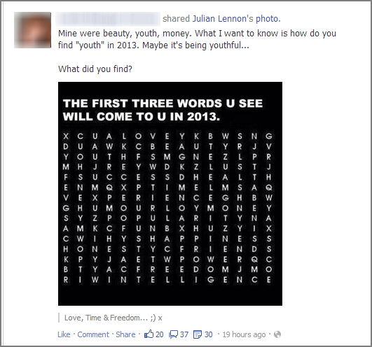 Throw in a quiz on your Facebook Page