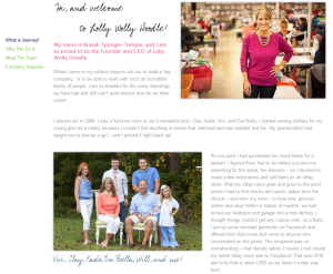 Facebook Marketing Success Story: Lolly Wolly Doodle