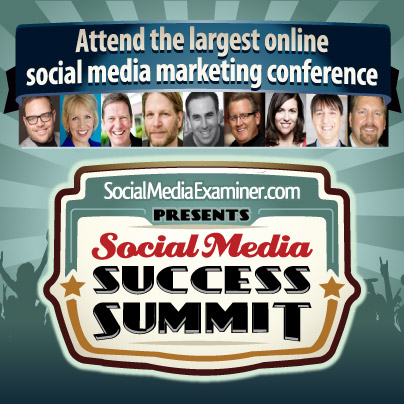 Attend the Largest Online Social Media Marketing Conference